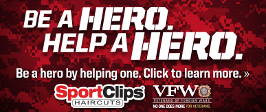 Sport Clips Haircuts of Round Rock - Hester's Crossing​ Help a Hero Campaign